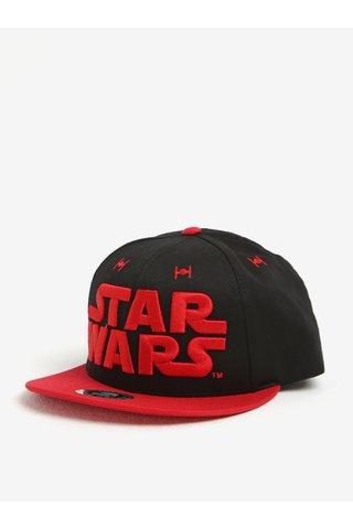 Sapca neagra & rosie cu broderie pentru barbati Star Wars