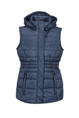 Modrá dámská voděodpudivá prošívaná vesta LOAP Tanya