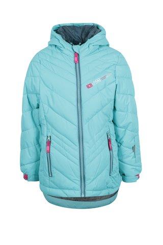 Modrá holčičí zimní funkční voděodolná bunda LOAP Ogava