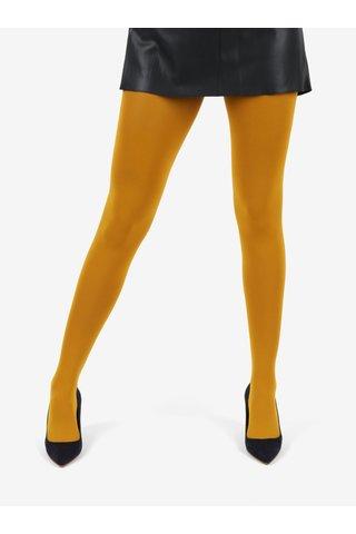 Hořčicové punčochové kalhoty Gipsy