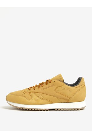Pantofi sport galbeni din piele naturala pentru barbati - Reebok Ripple WP