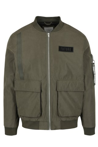 Jacheta bomber kaki - Jack & Jones Bend