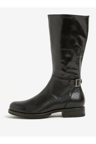 Cizme negre din piele cu catarama - U.S. Polo Assn.