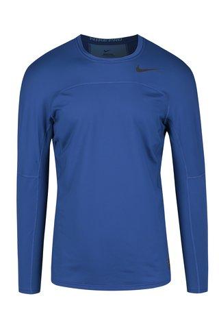 Bluza albastra sport barbateasca Nike
