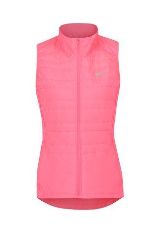 Růžová dámská funkční vesta Nike