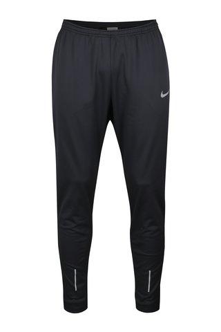 Černé pánské tepláky s kapsami Nike Therma Essential