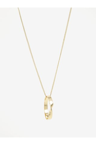 Lant auriu cu pandantiv minimalist - Pieces Rikal