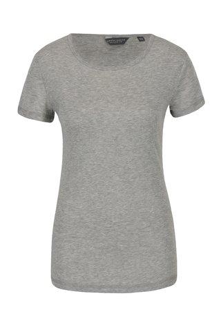 Světle šedé žíhané tričko Dorothy Perkins Tall