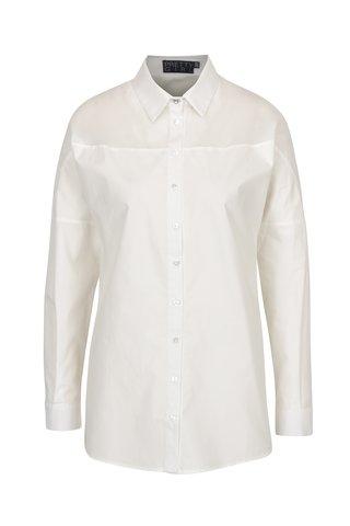 Bílá košile s průsvitným detailem Pretty Girl