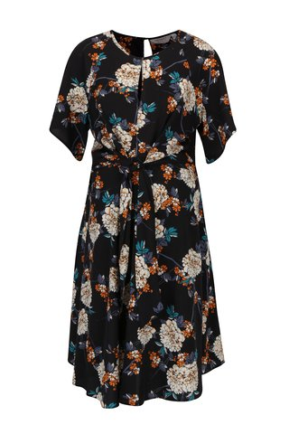 Rochie clos cu print floral si cordon in talie Dorothy Perkins Maternity