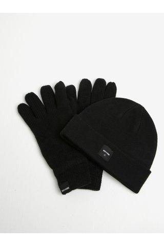 Set caciula si manusi negre  ONLY & SONS X-box