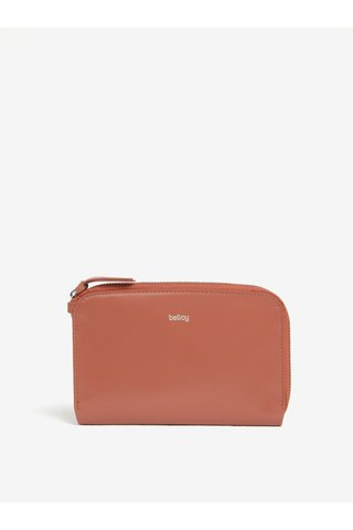 Portofel roz din piele pentru femei Bellroy Pocket