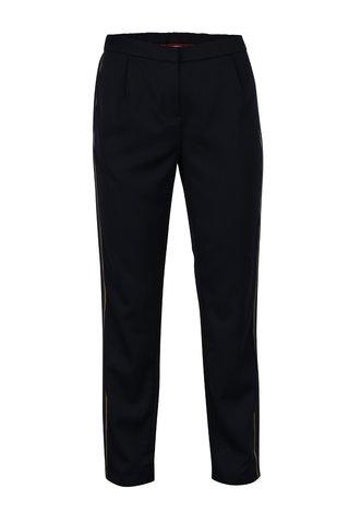 Tmavě modré kalhoty VILA Allessia