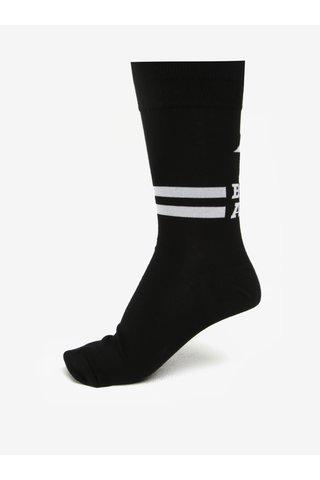 Sosete negre cu mesaj pentru barbati - Sock It to Me Badass