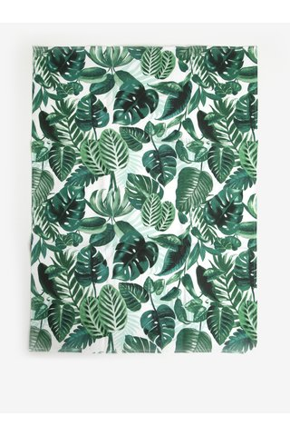 Prosop de bucatarie verde cu print floral - Sass & Belle