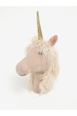 Unicorn bej pentru perete - Sass & Belle