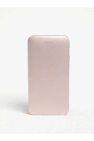 Růžová power banka Hyper Zikko