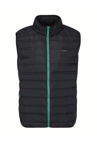 Černá pánská vodoodpudivá prošívaná vesta LOAP Itep