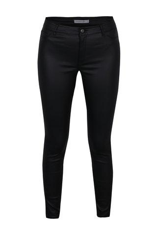 Pantaloni skinny negri cu aspect de piele - Jacqueline de Yong Thunder
