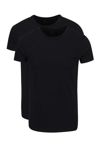 Sada dvou černých triček pod košili Björn Borg
