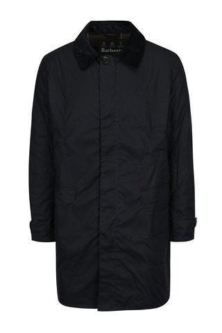 Černý pánský voděodolný kabát Barbour Nairn Wax