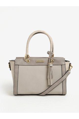 Béžová kabelka do ruky se střapcem Juno