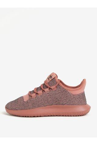 Pantofi roz sport de alergat pentru femei adidas Originals Tubular Shadow