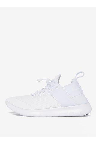 Pantofi sport albi pentru femei - Nike Free Commuter