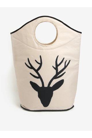 Cos textil pentru rufe cu reni - Butter Kings