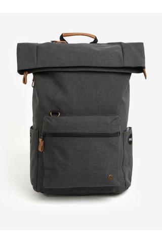 Tmavě šedý voděodolný batoh PKG