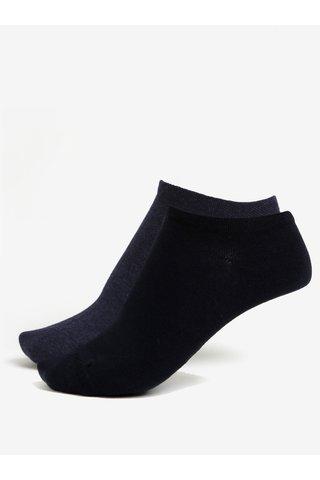 Sada dvou párů unisex ponožek v tmavě modré barvě JELL