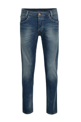 Blugi albastri regular fit pentru barbati - Pepe Jeans Spike