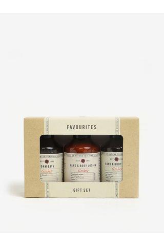 Set de trei cosmetice cu aroma de ambra Fikkerts Ambra