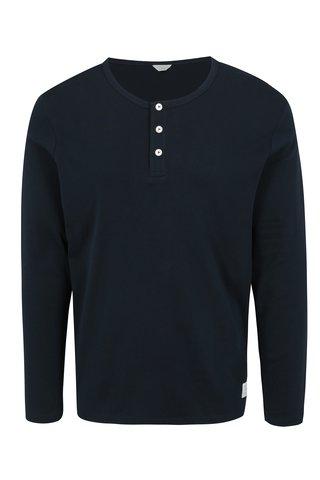 Bluza bleumarin cu nasturi  Jack & Jones Placket