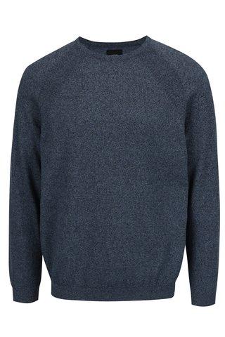 Modrý žíhaný svetr Burton Menswear London