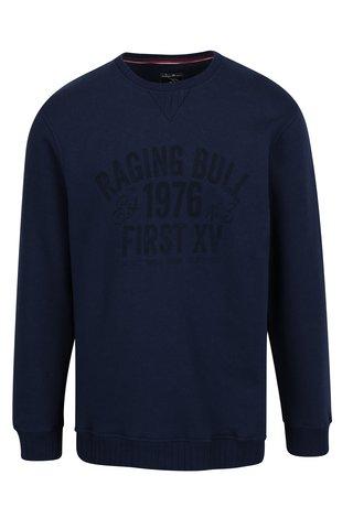Bluza sport bleumarin cu print - Raging Bull