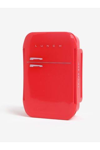 Červený box na jídlo Mustard