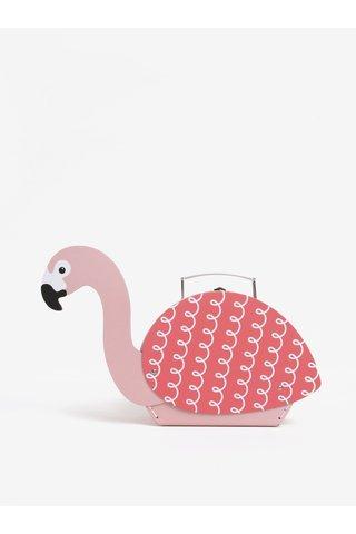 Cutie organizator flamingo roz - Sass & Belle