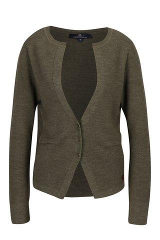 Cardigan maro din amestec de lana pentru femei - Jimmy Sanders