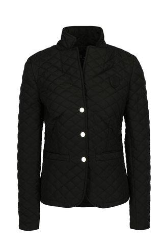 Jacheta matlasata neagra cu buzunare pentru femei - Jimmy Sanders