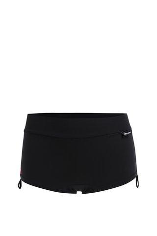 Pantaloni scurti sport negri cu snur lateral - Mania fitness wear Embrace