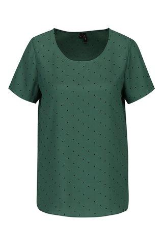 Bluza verde cu buline  VERO MODA Henna