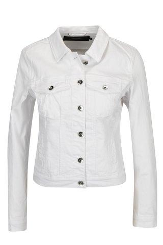 Jacheta alba din denim cu buzunare - VERO MODA Hot Soya