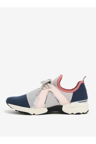 Pantofi sport gri & bleumarin cu detalii aurii - Carvela Lamar