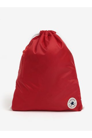 Červený vak s logem Converse Cinch