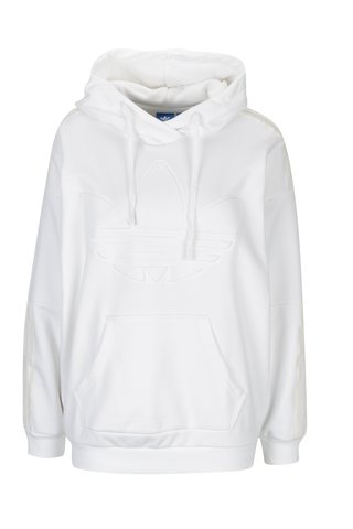 Hanorac alb pentru femei - adidas Originals