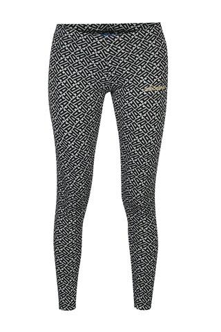 Colanti alb&negru cu print pentru femei - adidas Originals