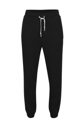 Pantaloni sport negri cu logo pentru barbati - Converse Core