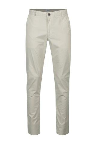 Krémové chino kalhoty Farah Twill