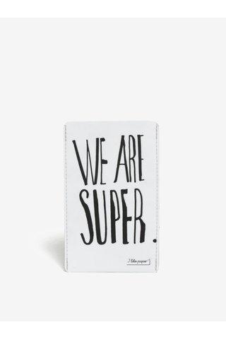 Husa de telefon alba I like Paper We are super